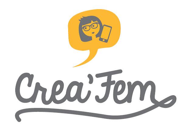 Logo créa'fem